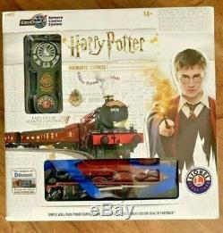 Nouveau Lionel Harry Potter Ensemble De Train En O-gauge Prêt À Fonctionner Poudlard Express Terminé