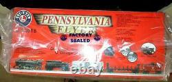 Nouveau Lionel Pennsylvania Flyer Train Set 6-30018 Starter Ready To Run Sealed Box