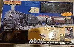 Nouveau Roi De Rail Prêt À Exécuter Pennsy 6-8-6 Turbine Steam Train Set
