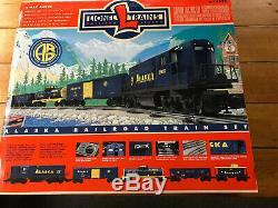 Nouveau Scellés Lionel 6-11972 Alaska Rr Prêt-à-run Moteur Diesel Du Train De Marchandises