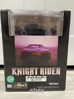 Nouveau Skynet Scellé Kyosho Mini-z Rtr Knight Rider Prêt À Courir Ensemble K. I. T. T. Rare