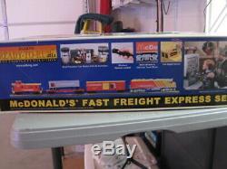 O Échelle Railking-mth Prête À Faire Fonctionner Le Train Mcdonalds En Excellent État