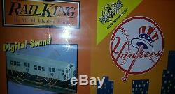 O Mth Rail King Ny Yankee Subway Série Set Mta Prêt À Run Withsound Nisb