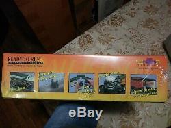 O Mth Rail King Ny Yankees Subway Série Set Mta Prêt À Exécuter Box Withsound Etanche