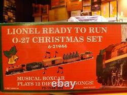 O Scale- Lionel- Prêt À L'emploi De Noël Set Nouveau Dans La Boîte (l9)