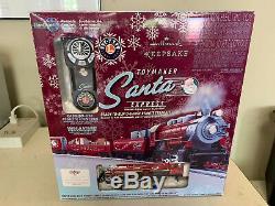 Poinçon Toymaker Santa Express Prêt À Courir Plume De Train Distant