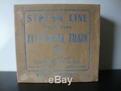 Prêt À Courir Marx Prewar Train Électrique À Vapeur Type De Double Decker Box Set 3966