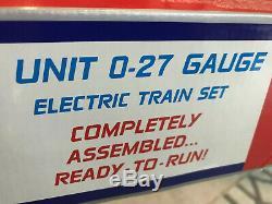 Prêt À Fonctionner Ligne K 0-27 Gauge Pepsi Generation 5 Unité Électrique Train