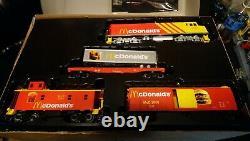 Rail Roi Chars Train Prêt À Exécuter Fast Freight Express Mcdonald Set