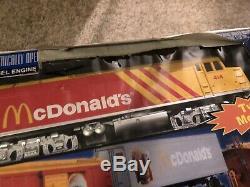 Rail Roi Prêt-à-run Fast Freight Express Mcdonald Train In Box