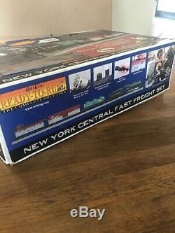 Rail Roi Train Prêt À Fonctionner Newyork Central Fast Freight Protosound 2.0 Nouveau
