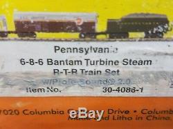 Railking # 30-4086-1 Prêt À Fonctionner Set R-t-r À Vapeur Bantam Turbine En Pennsylvanie