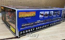 Railking 6-8-6 Pennsy Broadway Turbine Prêt À Courir Train Set No Controller