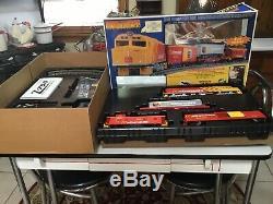 Rare Rail Roi Prêt À Exécuter Fast Freight Express Mcdonald Set