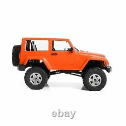 Rc4wd 1/18 Gelande II Prêt À Courir Avec Black Rock Body Set Orange