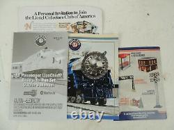 Santa Fe Ready-to-run Electric O-gauge Train Set Manquant! Sante Fe Locomotive