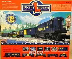 Scellé Lionel 6-11972 Alaska Railroad Diesel Freight Coffret De Train Prêt À Courir
