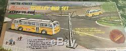 South Street Trolley Bus Set. Prêt À Courir. H. O. Échelle. Nouveau Stock Ancien