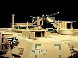 Tamiya Rc 1/16 Char M1a2 Abrams Rtr Prêt À Fonctionner Ensemble Complet Et Intégré Painted