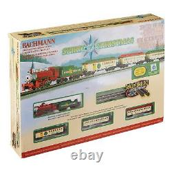 The Spirit Of Christmas Bachmann N Scale Ready To Run Electric Train Set 24017