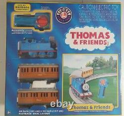 Thomas Et Ses Amis Holiday Lionel Prêt À Exécuter Train À Distance Set O Scale Fastrack