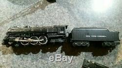 Train Set Ready To Run New York Central Rapide, Roi De Fret Ferroviaire