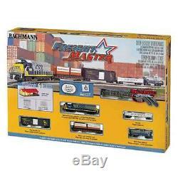 Trains Bachmann Freightmaster N Échelle Prêt-à-run 60 Pièces Ensemble De Train (utilisé)