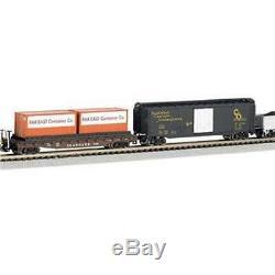 Trains Bachmann Freightmaster N Échelle Prêt-à-run Set Train 60 Pièces (open Box)