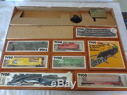 Tyco Ho Scale Chattanoogo Choo-choo Set Prêt À L'emploi 1981 Vintage