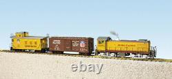 USA Trains Echelle G R72400 Union Pacific S4 Ensemble De Marchandises Diesel Prêt À L'entreprise