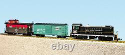 USA Trains Echelle G R72402 New York Centra S4 Ensemble De Marchandises Diesel Prêt À Run Set