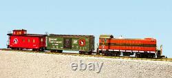 USA Trains Echelle G R72403 Grand Ensemble De Fret Diesel Nord S4 Prêt À Rouler