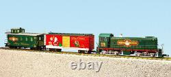 USA Trains Echelle G R72404 Christmas S4 Ensemble De Marchandises Diesel Prêt À L'entreprise