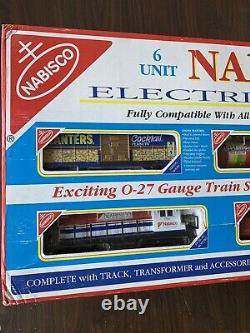 Vintage K-line Nabisco No. 1522 Ensemble De Trains O27 Électriques 6 Unités Prêts À Fonctionner