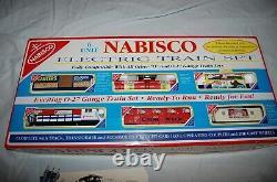 Vintage K-line Nabisco No. 1522 Prêt À Courir 6 Unités Électrique O27 Train Ensemble Menthe
