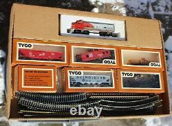 Vintage Tyco Electric Train Ready-to-run Set Vers 1974-75 Nouveauté Dans La Boîte Testée