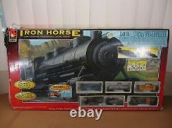 Vintage Union Pacifique Train Ho Échelle Iron Horse Prêt À Courir Train Ensemble En Boîte