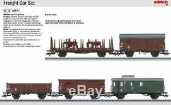 W441-46089 Era Iii-5 Wagons De Marchandises Set 3-rail Prêt À Fonctionner - Fédéral Allemand