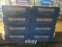 Walthers Prêt À Courir Santa Fe Super Chief Sf 8 Voiture Set 932 9001 Throug 932 9008