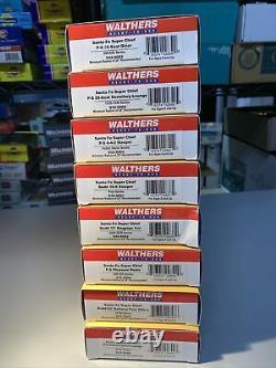 Walthers Set 8 Voitures Prêt À Rouler Santa Fe Super Chief