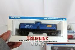 Walthers Trainline Deluxe Ho Train Set Prêt-à-run Voiture De Freight Set De 6