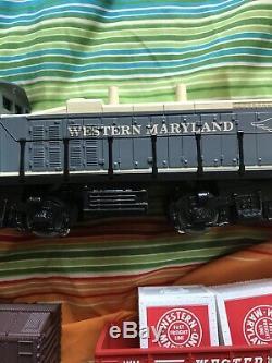 Western Maryland 6 Train Unité Pret À Run 0-27 Avec La Boîte