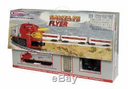 Williams # 00321 Chars Santa Fe Flyer Prêt À Fonctionner Train Neuf Dans La Boîte