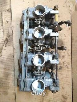 Yamaha Seca Xj750 Seca 1981-1983 Carburetor Set Rack Bancaire Prêt À Fonctionner
